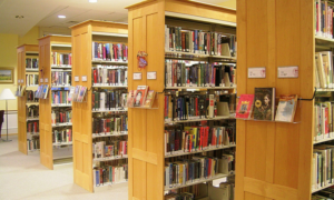Witchita KS middle school Library