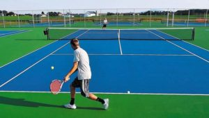 hm-ribbon-cut-on-new-tennis-courts-at-james-bu-001